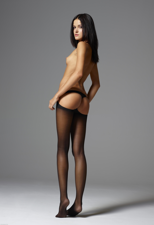 Slutload pantyhose bound and spanked