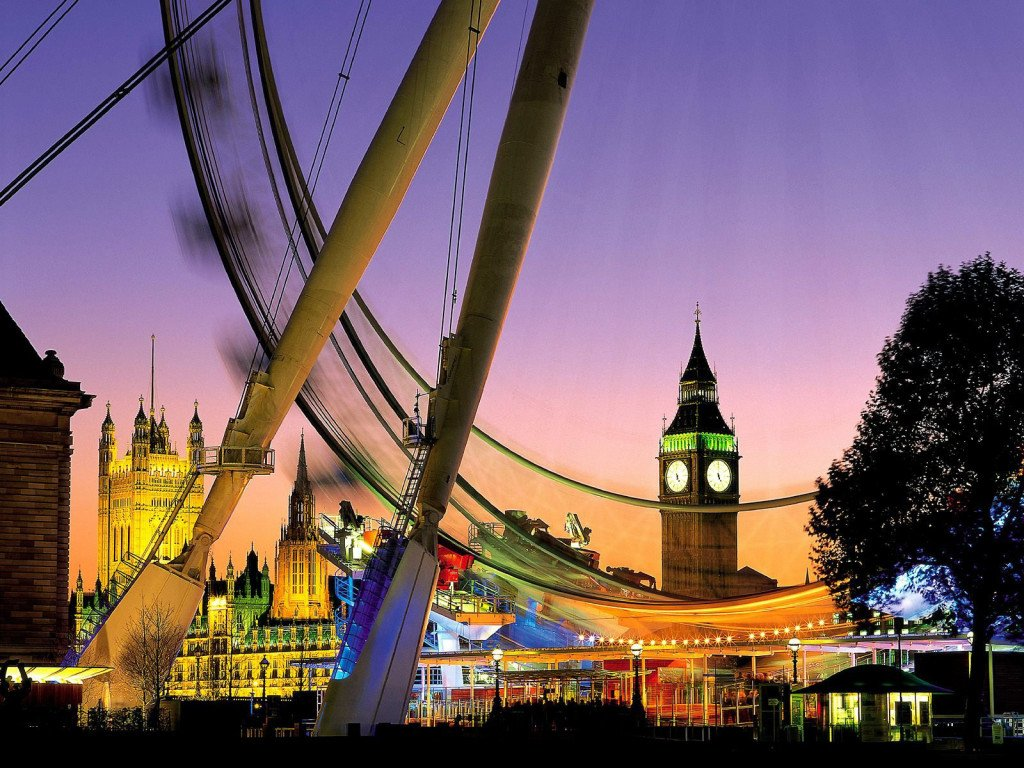 Cities London Eye 005060
