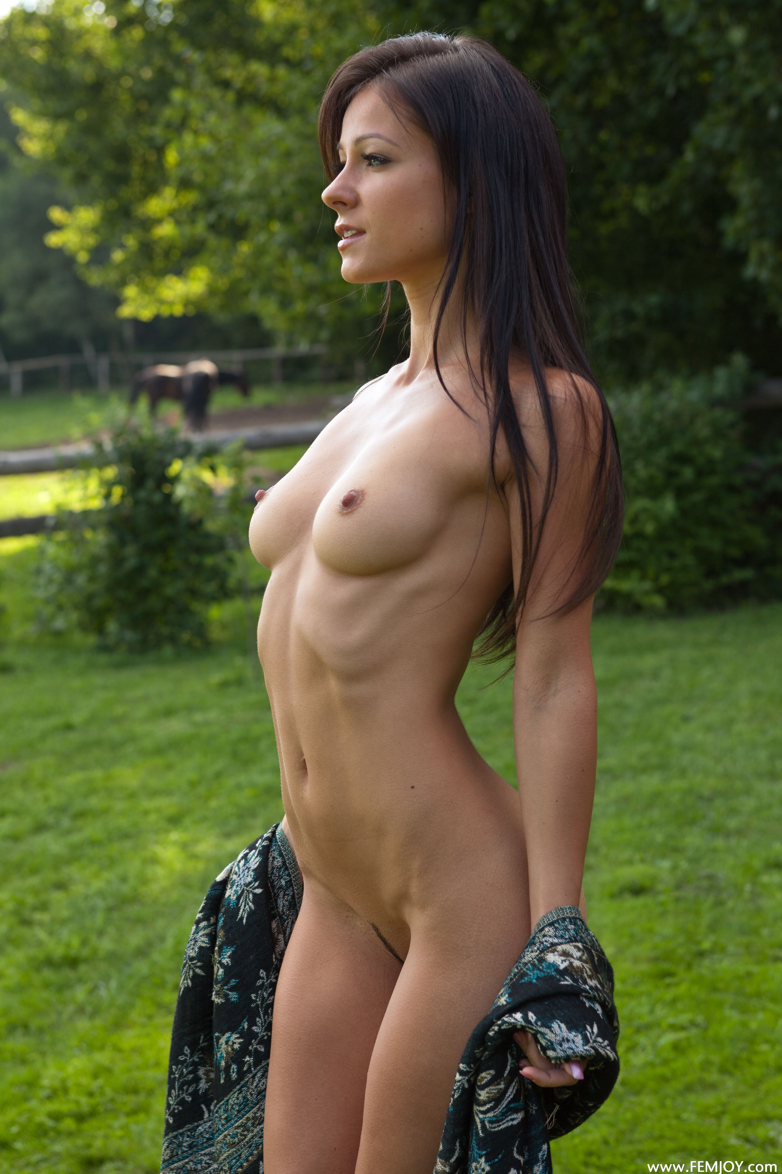 Woman with huge anal gape