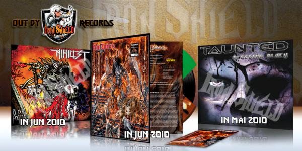 3 LPs released